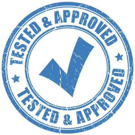 approval icon: Approved stamp