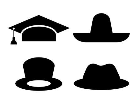derby hats: Hat icon Illustration