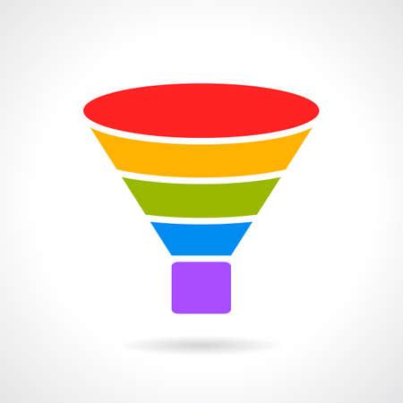 sifting: Filter layered diagram