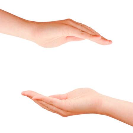 Schutzpflege Hände Lizenzfreie Bilder