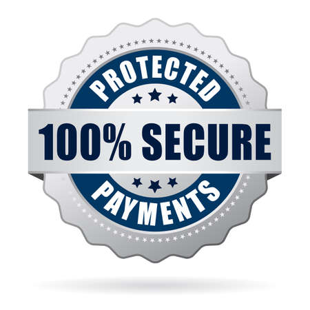guarantee seal: Secure protected payments icon