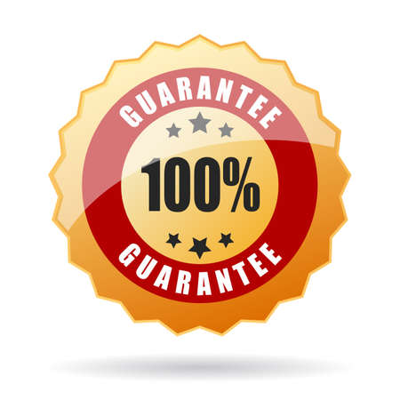 guaranty: Guarantee icon Illustration