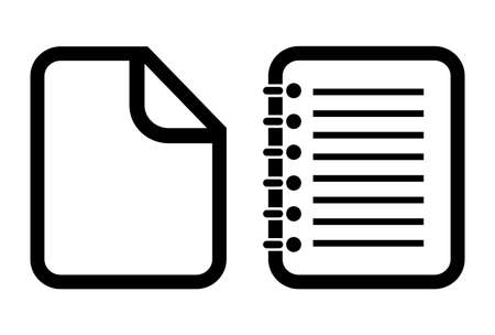 Document icon Illustration