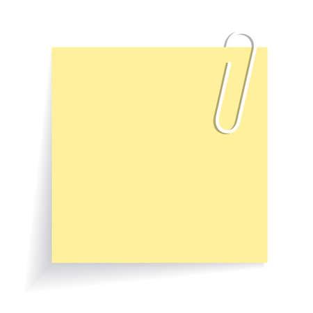 Yellow sticker