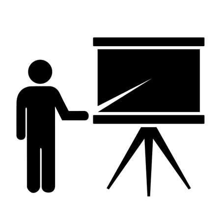 Schülersymbol Illustration