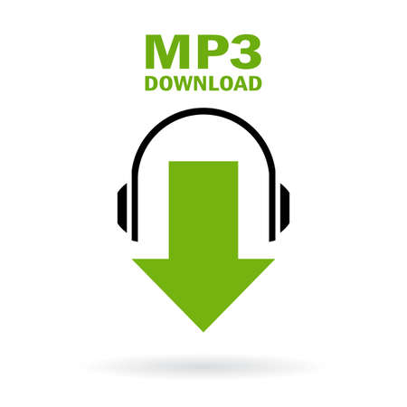 headphones: Mp3 download icon