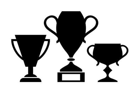 awarding: Winner cups icon Illustration
