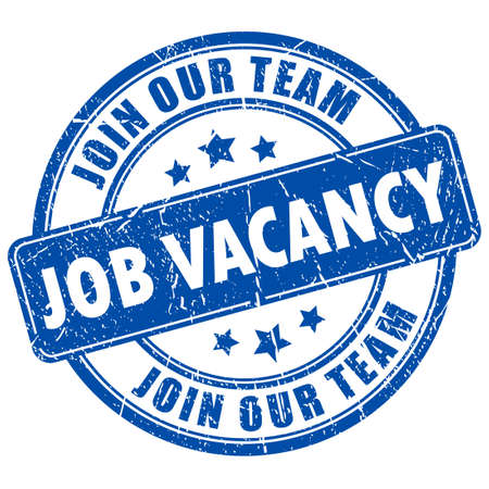 Job vacancy rubber stamp