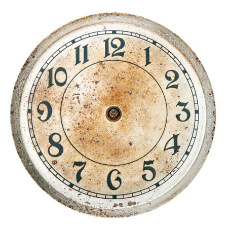 Blank Clock Dial Without Hands Stock Photo Picture And Royalty