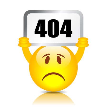 404 エラーの記号 写真素材 - 44805170