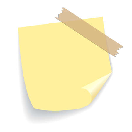 scrap: Yellow square sticker