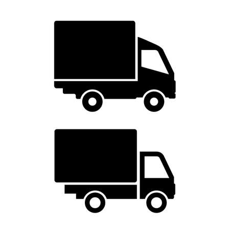 delivery icon: Lorry van icon