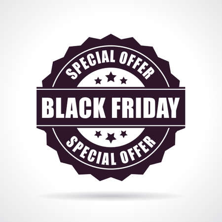 offer icon: Black friday special offer icon