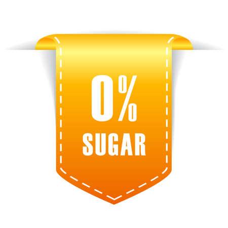 non: No sugar ribbon