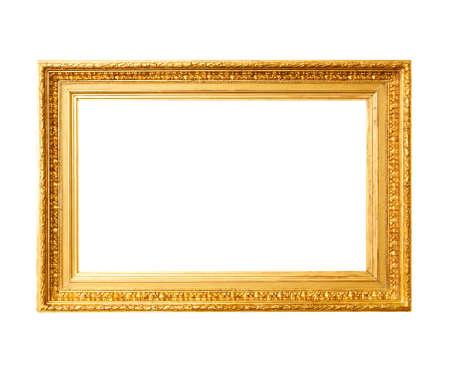 Alte Goldrahmen Standard-Bild - 46164896
