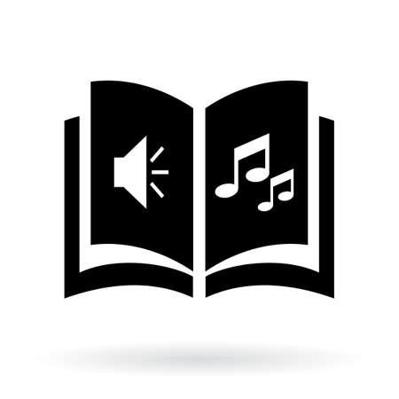 handbook: Audio book icon