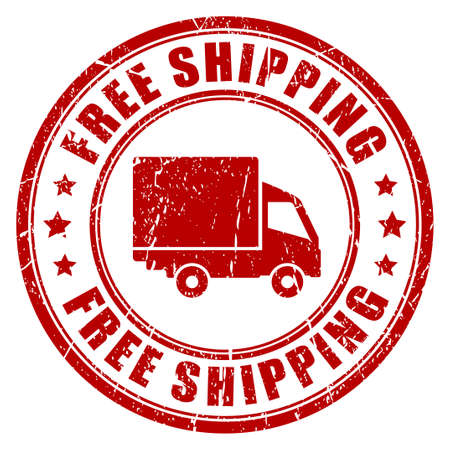 shipping: Free shipping rubber stamp