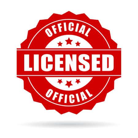 Icône officiel licence