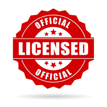 licensed: Official licensed icon