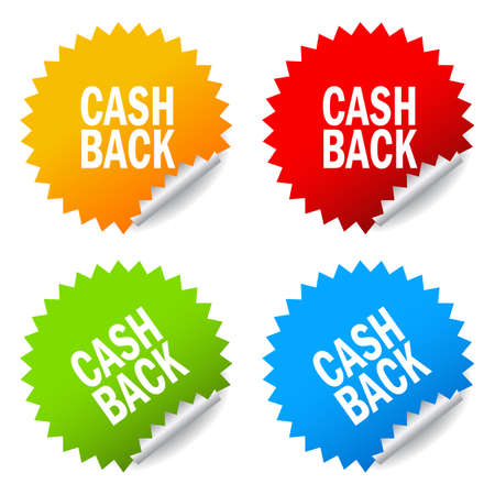 sticker: Cash back sticker