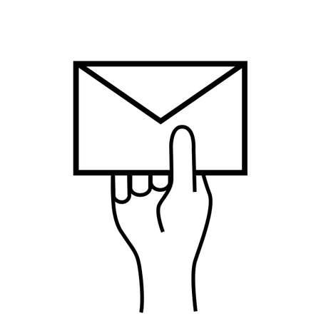 segurar: Enviar carta