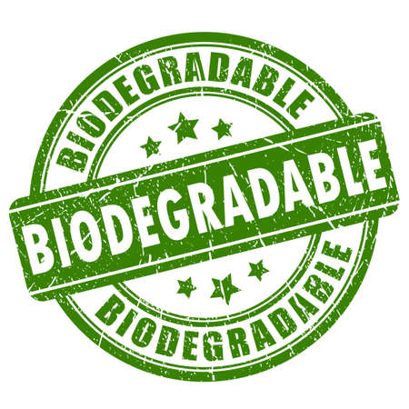 biodegradable: Biodegradable rubber stamp