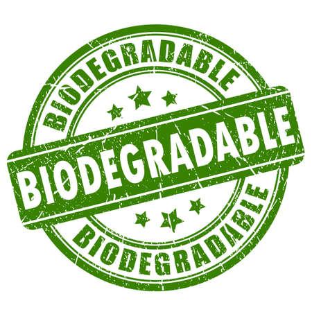 Biologicky rozložitelný razítko