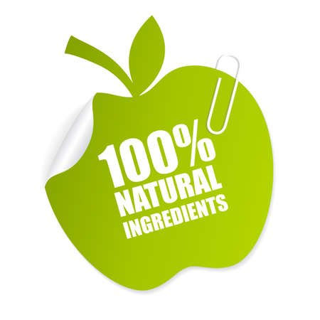 cholesterol free: Natural product icon Illustration