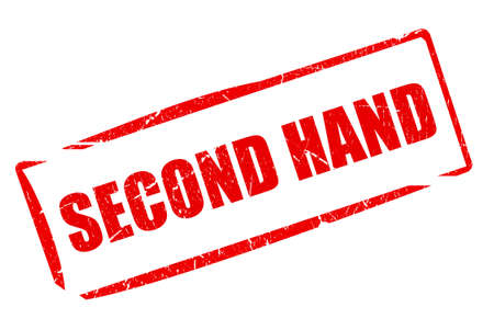 second hand: Second hand stamp