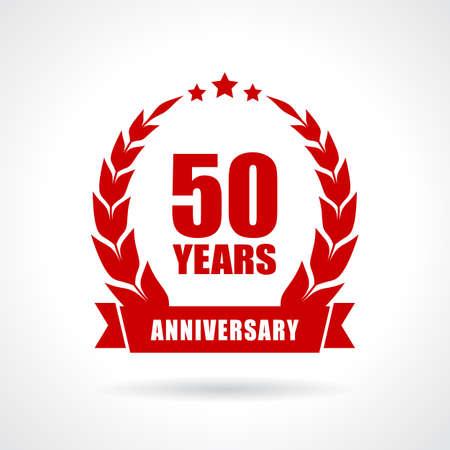 50 let ikona výročí