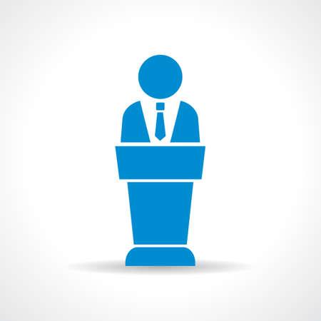 orador: Altavoz icono