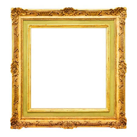 large gold picture frames old gold frame border