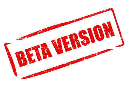 version: Beta version stamp
