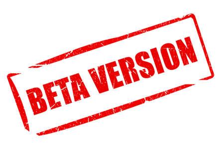 version: Beta version stamp
