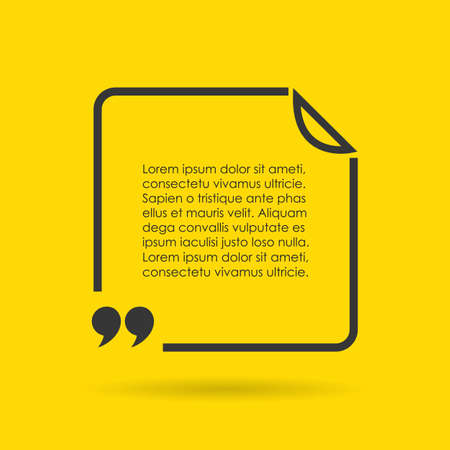 Quote text border