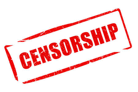 censorship: Censorship stamp