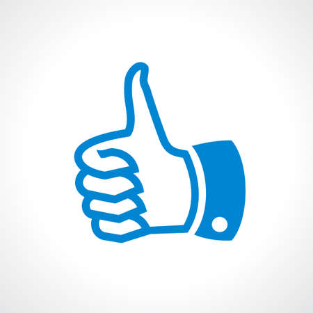 top rated: Thumb up icon