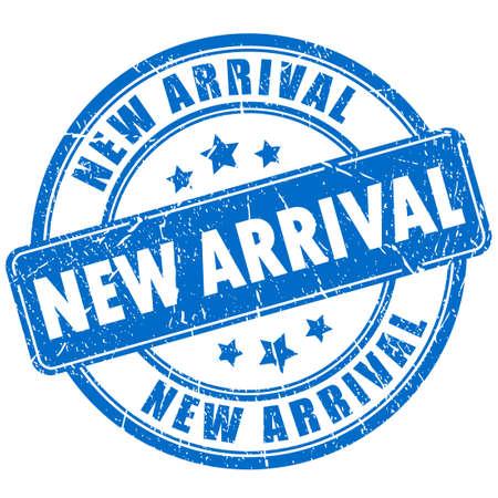 New arrival rubber stamp Stock Illustratie