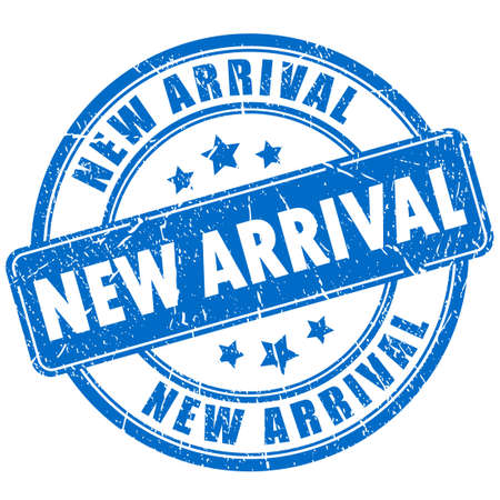 New arrival rubber stamp Vettoriali