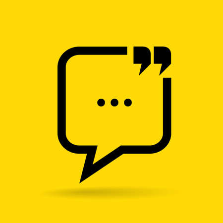 citing: Chat communication icon