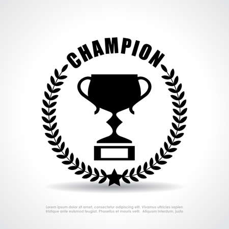 awarding: Champion emblem