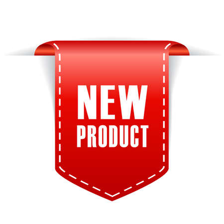 New product ribbon Stock fotó - 48095867