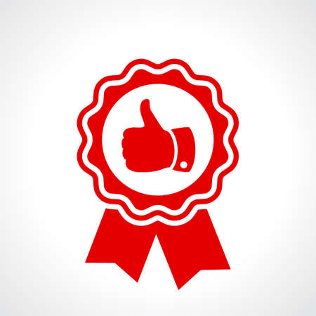 最高品質保証書  イラスト・ベクター素材