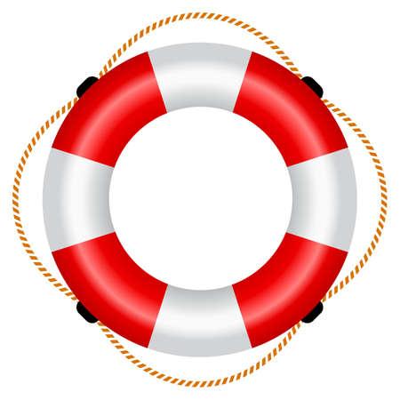 Life raft icon Vettoriali
