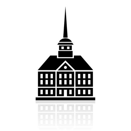 town halls: Palace icon