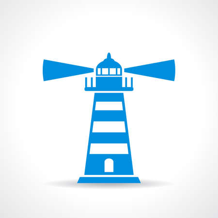 Lighthouse vector symbol