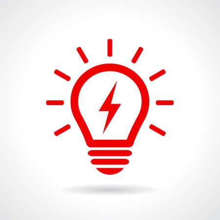 lighting button: Light bulb symbol