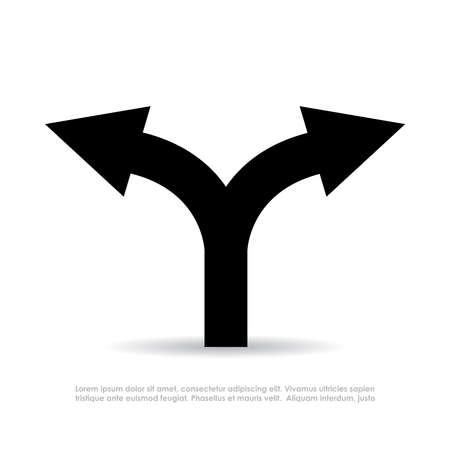 Two way arrow symbol