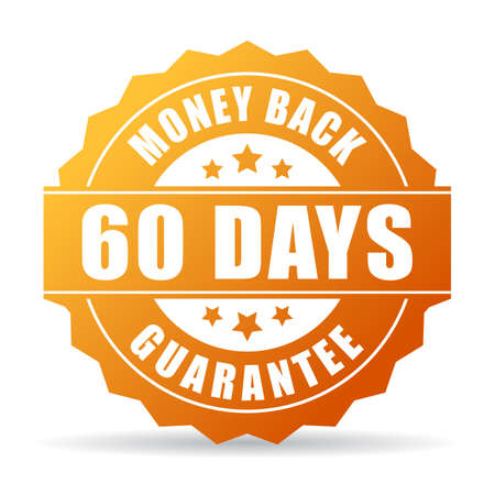 60 days money back gold icon