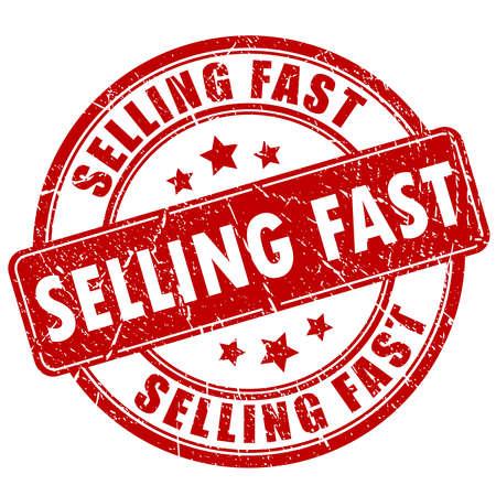 La venta de sello de goma rápida